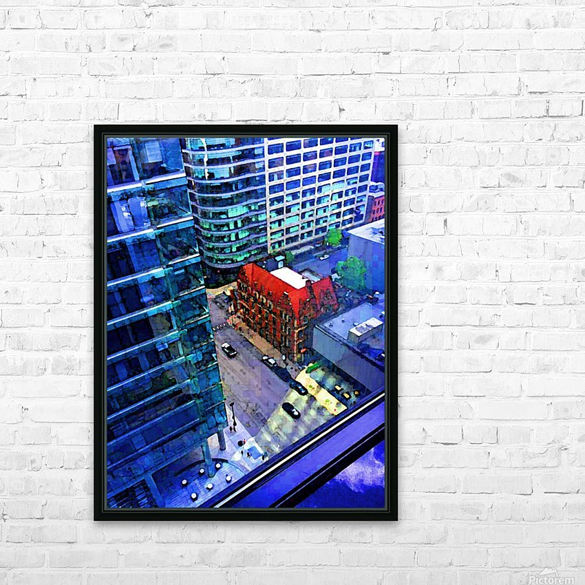Cement Jungle HD Sublimation Metal print with Decorating Float Frame (BOX)