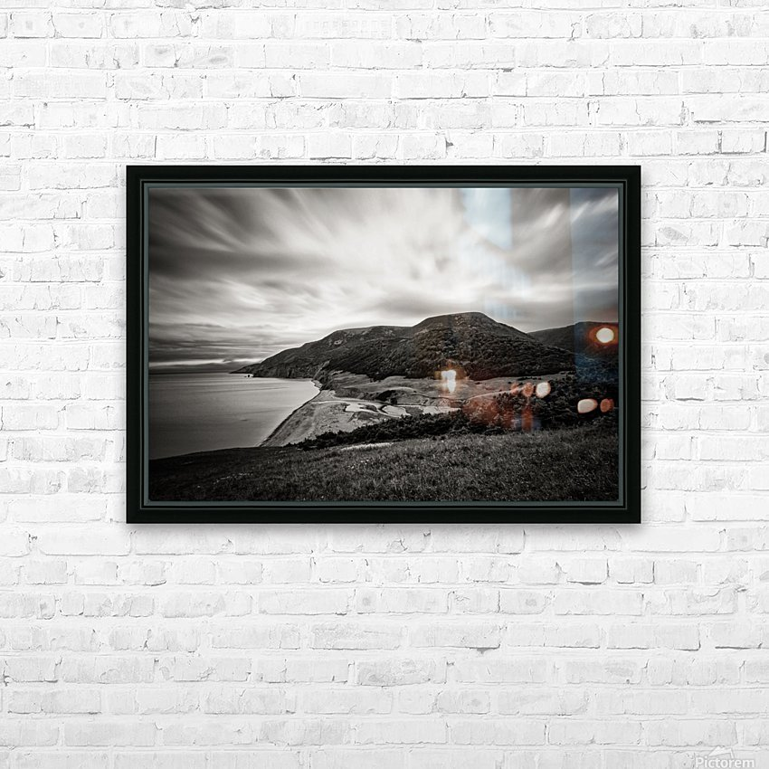 Pollets Cove HD Sublimation Metal print with Decorating Float Frame (BOX)