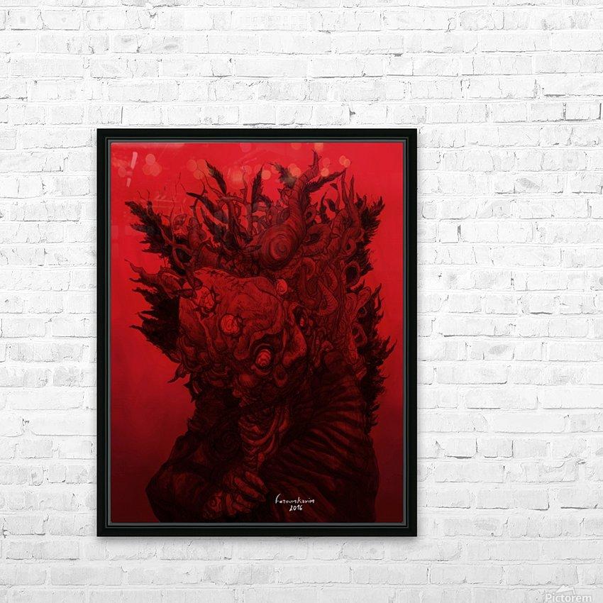 Aux limites...Il ya les mondes mouvants  HD Sublimation Metal print with Decorating Float Frame (BOX)