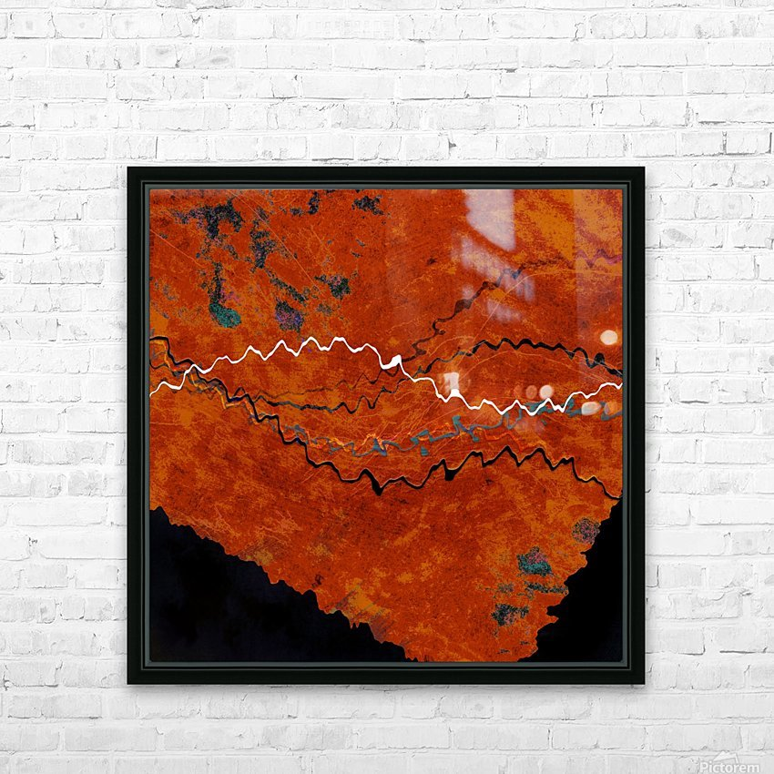 Ancient Paths HD Sublimation Metal print with Decorating Float Frame (BOX)