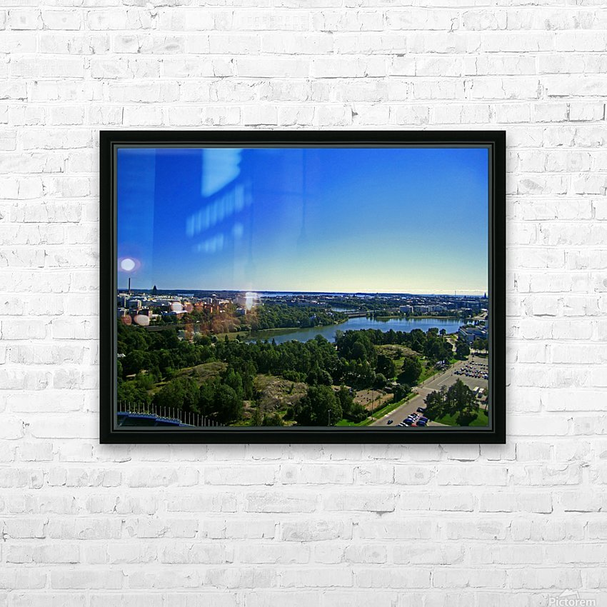 Up Above HD Sublimation Metal print with Decorating Float Frame (BOX)