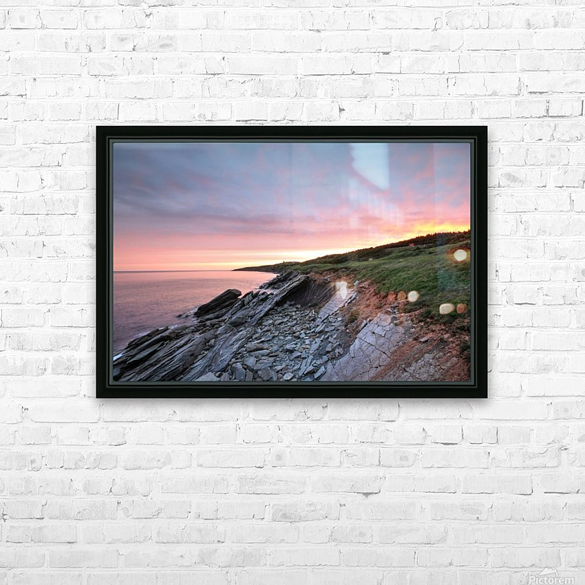 Fire Sky HD Sublimation Metal print with Decorating Float Frame (BOX)