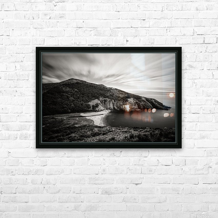Fishing Cove HD Sublimation Metal print with Decorating Float Frame (BOX)