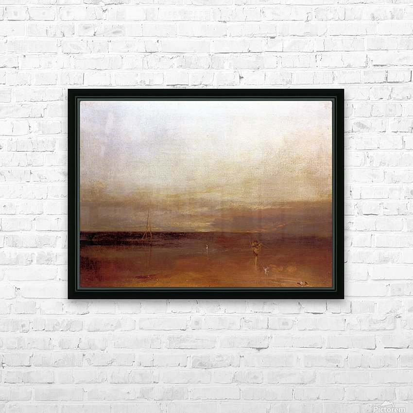 The evening star by Joseph Mallord Turner HD Sublimation Metal print with Decorating Float Frame (BOX)