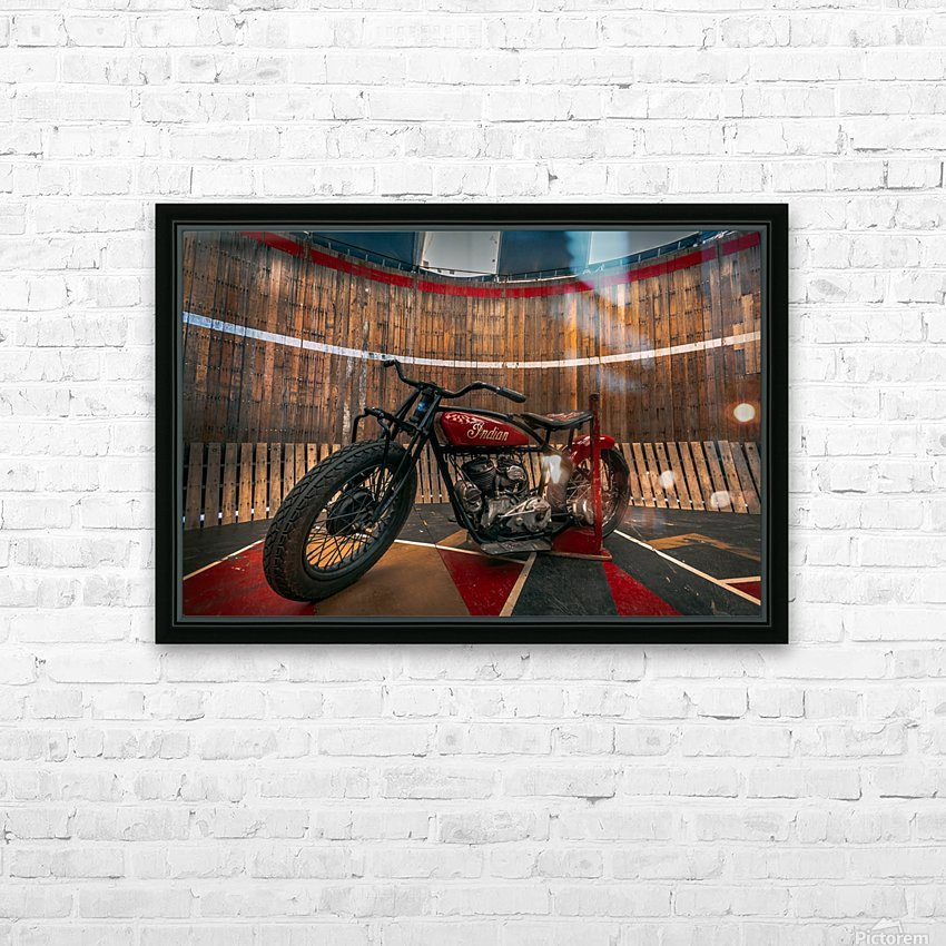 1927_Indian_Scout_Motorcycle HD Sublimation Metal print with Decorating Float Frame (BOX)