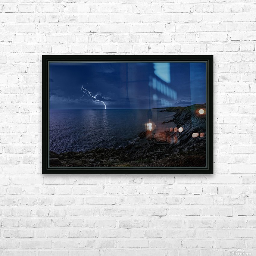Stormynight HD Sublimation Metal print with Decorating Float Frame (BOX)