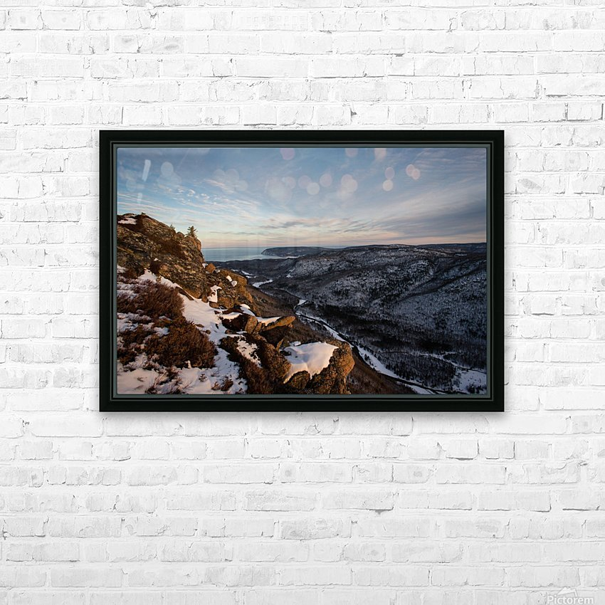 Franey Winter HD Sublimation Metal print with Decorating Float Frame (BOX)