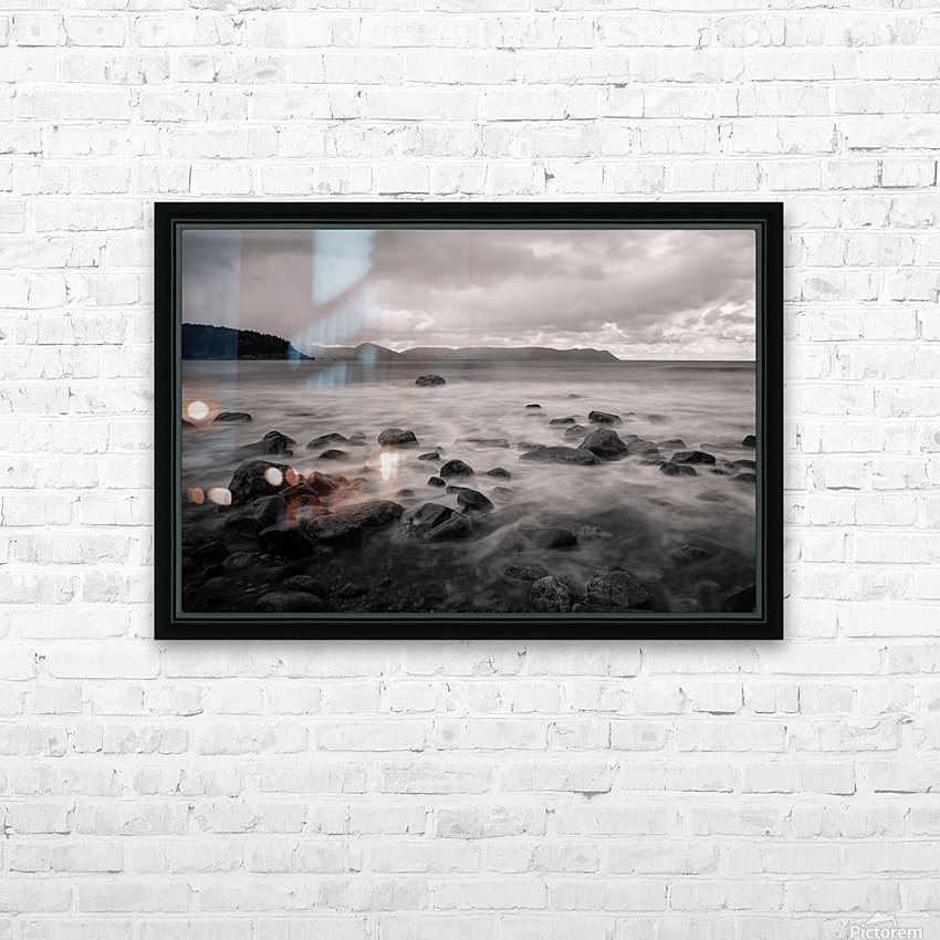 Smelt Brook HD Sublimation Metal print with Decorating Float Frame (BOX)