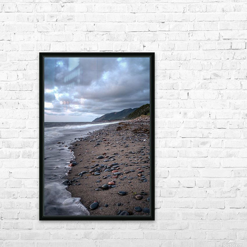 Cape Breton Shore HD Sublimation Metal print with Decorating Float Frame (BOX)