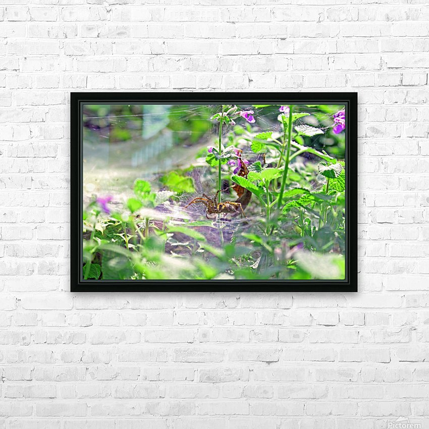 Crawling HD Sublimation Metal print with Decorating Float Frame (BOX)