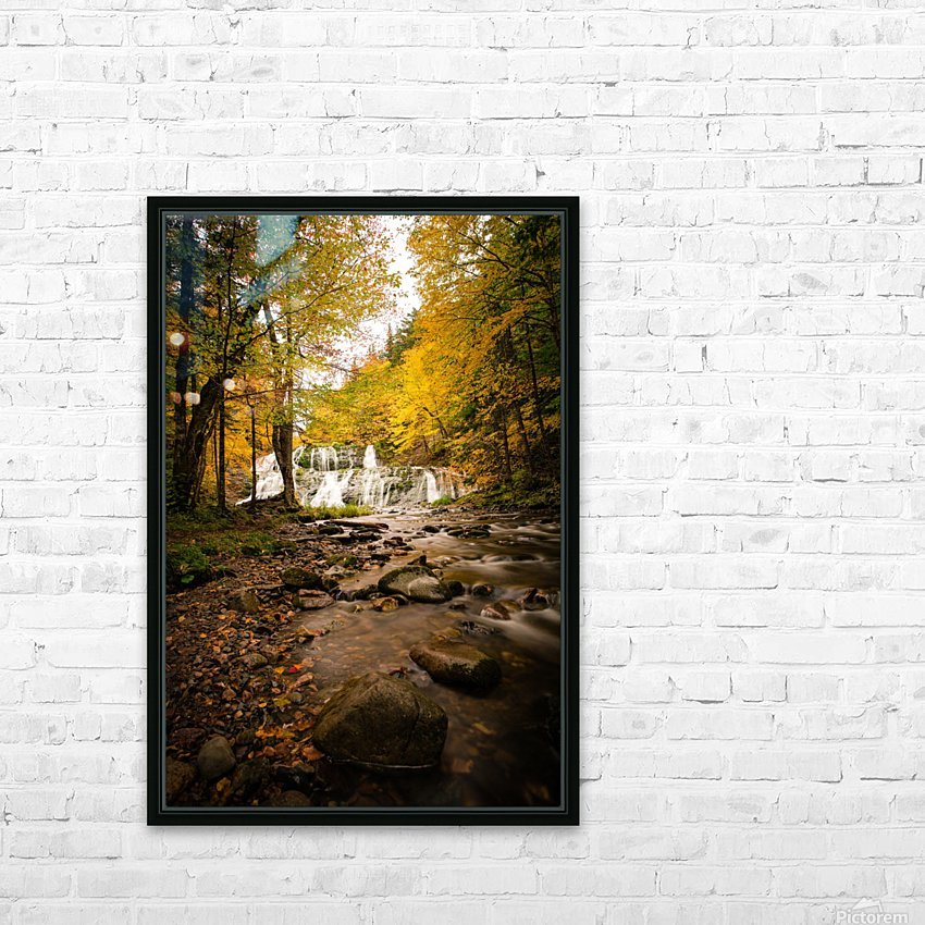 Egypt Falls HD Sublimation Metal print with Decorating Float Frame (BOX)