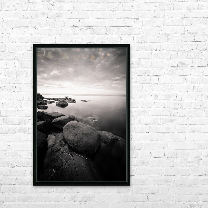 Moment of zen HD Sublimation Metal print with Decorating Float Frame (BOX)