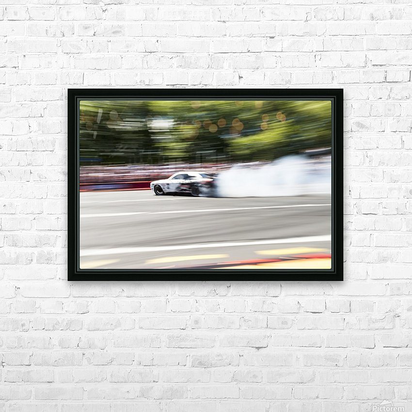 DRIFT SHIFTING 2 HD Sublimation Metal print with Decorating Float Frame (BOX)