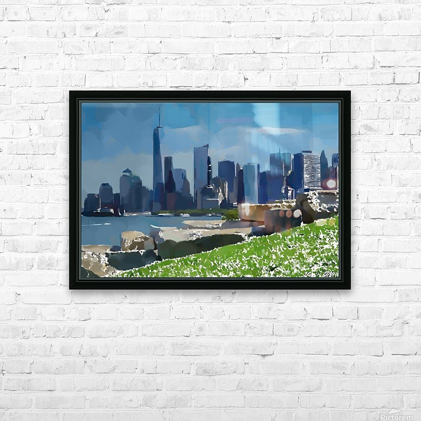 NEW YORK_View  031 HD Sublimation Metal print with Decorating Float Frame (BOX)