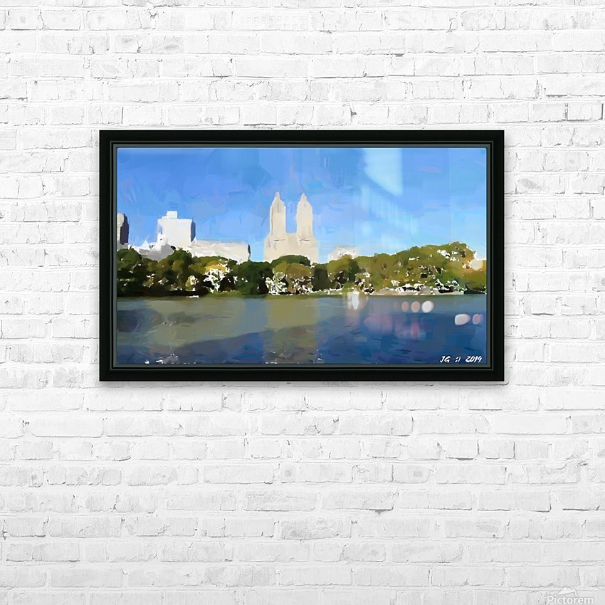 NY_CENTRAL PARK_View 047 HD Sublimation Metal print with Decorating Float Frame (BOX)