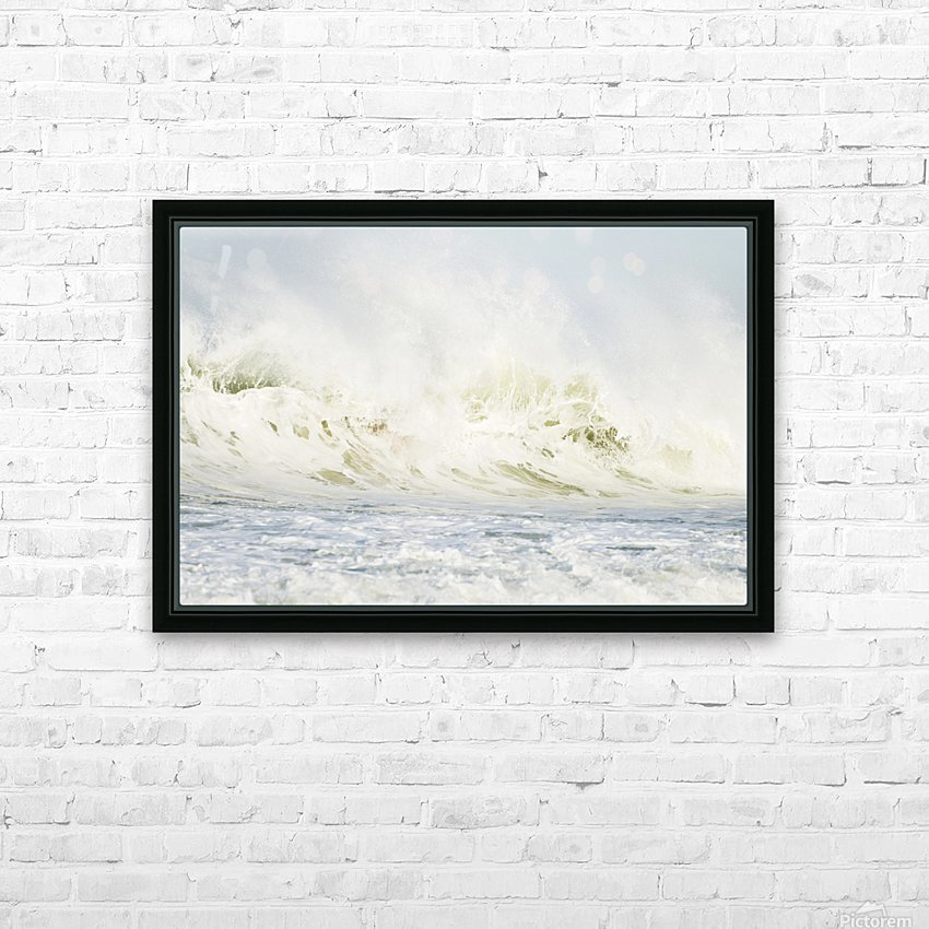 AVALANCHE HD Sublimation Metal print with Decorating Float Frame (BOX)