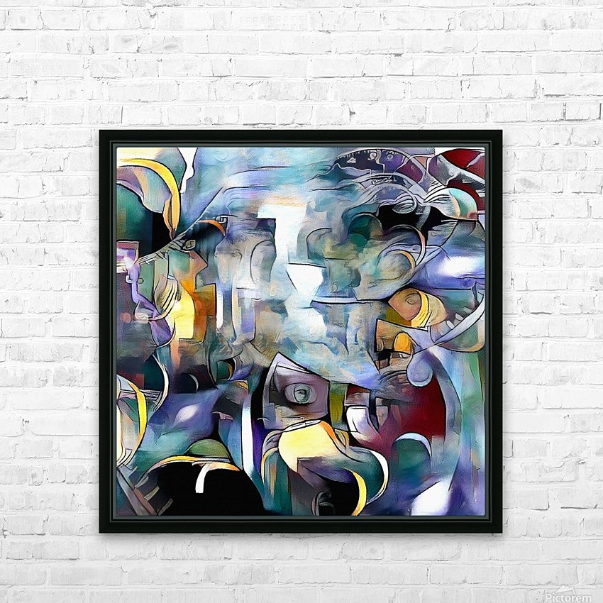 Illusion of Existence HD Sublimation Metal print with Decorating Float Frame (BOX)