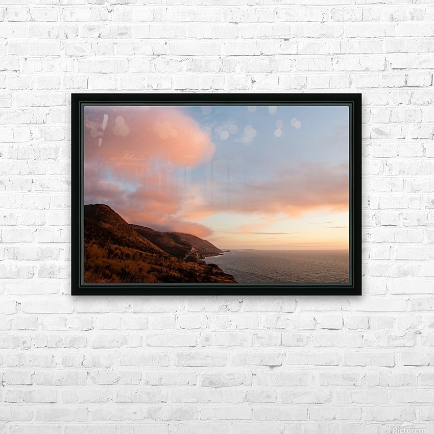 Gods country HD Sublimation Metal print with Decorating Float Frame (BOX)