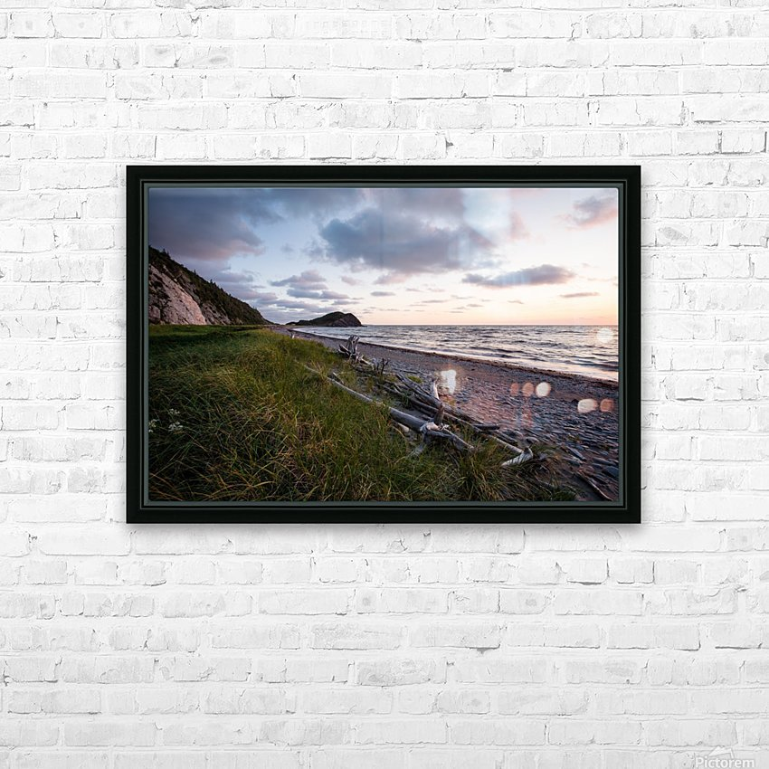 Vanilla Skies HD Sublimation Metal print with Decorating Float Frame (BOX)