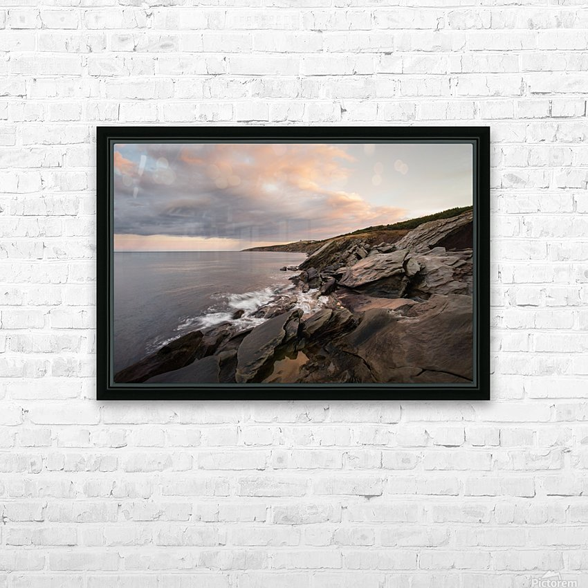 In the distance HD Sublimation Metal print with Decorating Float Frame (BOX)