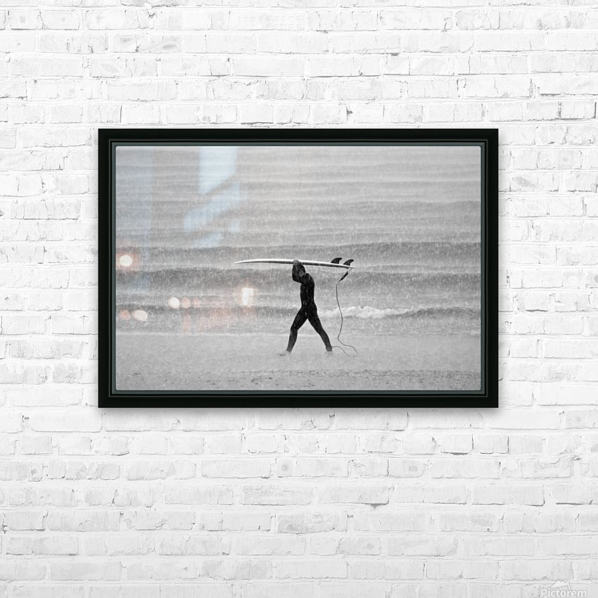 MONSOON SURFER HD Sublimation Metal print with Decorating Float Frame (BOX)