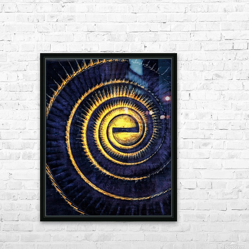 Reflections in a Golden Eye HD Sublimation Metal print with Decorating Float Frame (BOX)