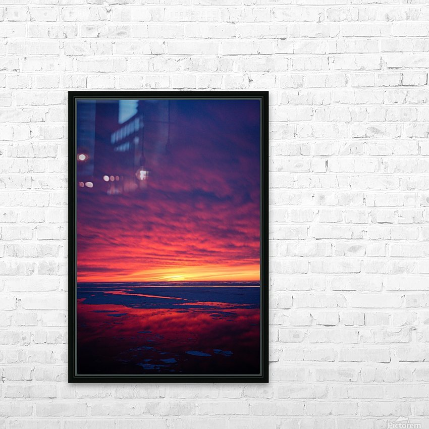 Rouge HD Sublimation Metal print with Decorating Float Frame (BOX)