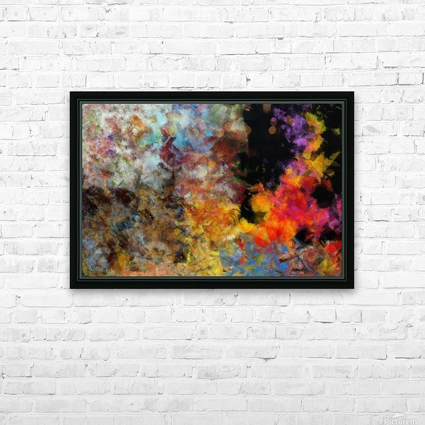 Flame HD Sublimation Metal print with Decorating Float Frame (BOX)