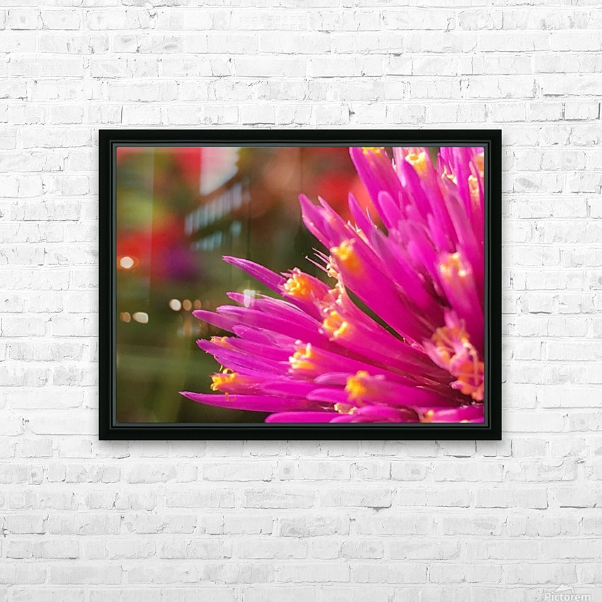 5 th Resonance HD Sublimation Metal print with Decorating Float Frame (BOX)