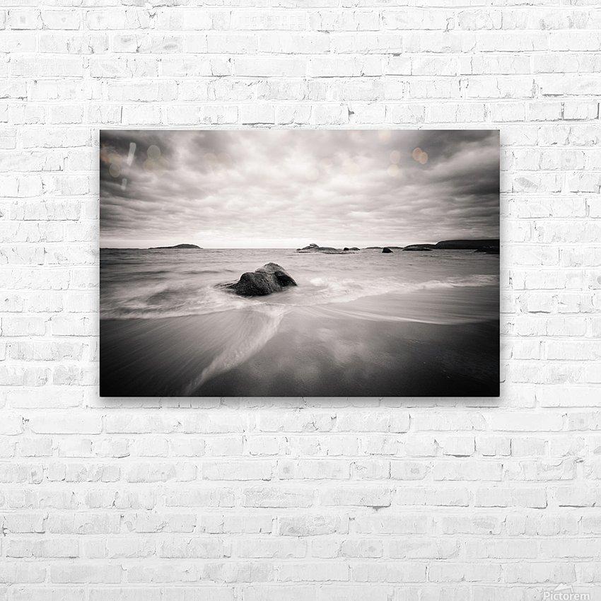 Peaceful Shore HD sublimation métal imprimé avec décoration flotteur cadre (boîte)