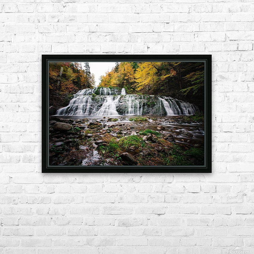 Autumn at Egypt Falls HD Sublimation Metal print with Decorating Float Frame (BOX)