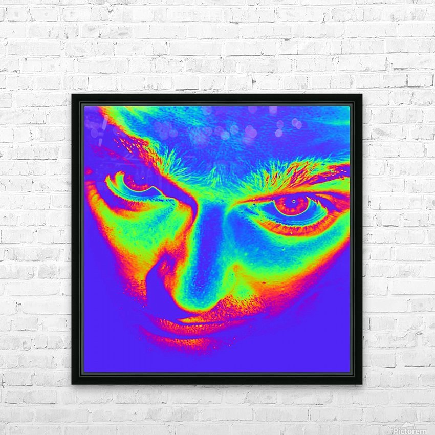 Crazy eyes HD Sublimation Metal print with Decorating Float Frame (BOX)