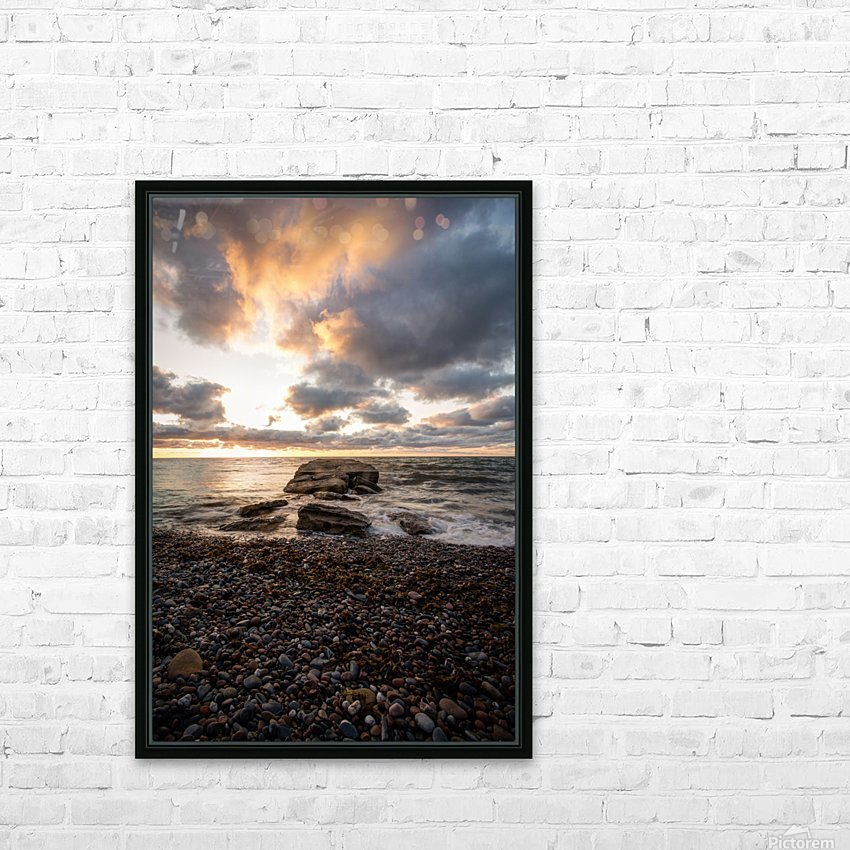 Chase the light HD Sublimation Metal print with Decorating Float Frame (BOX)