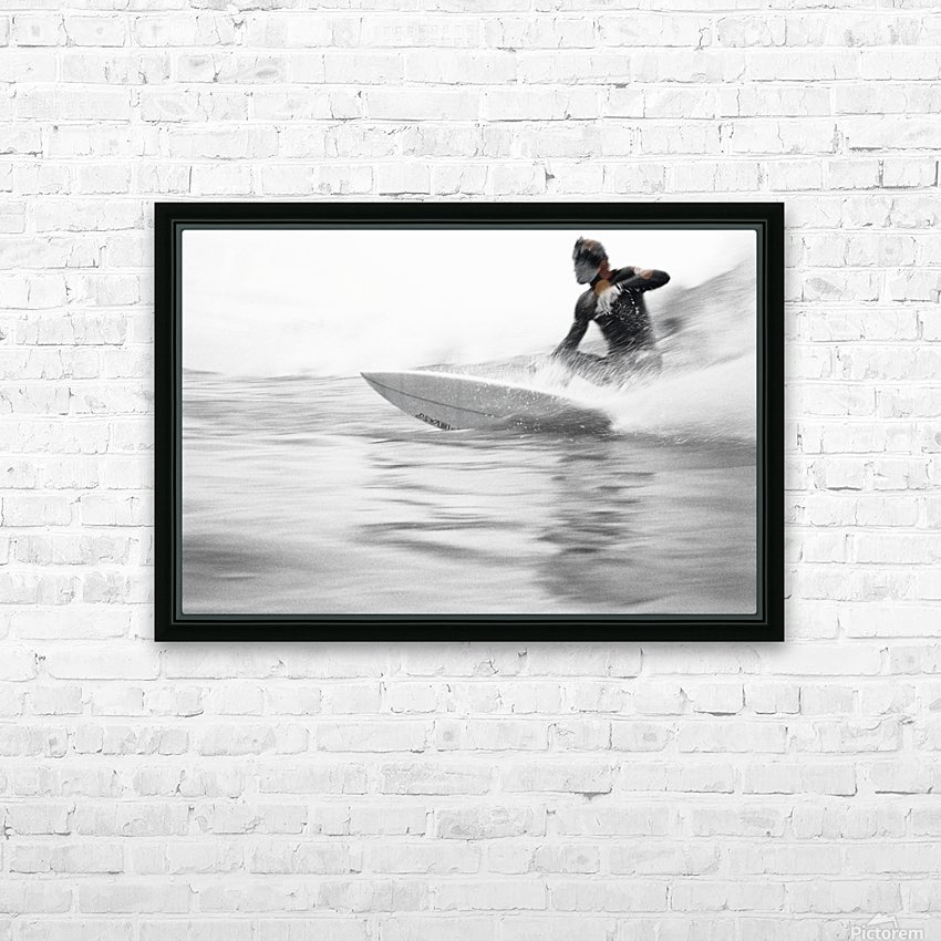 SURF STYLE HD Sublimation Metal print with Decorating Float Frame (BOX)