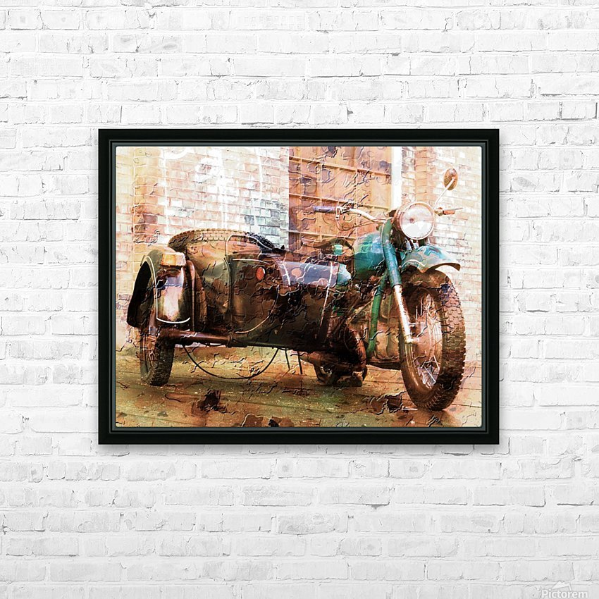 The Backroads of My Mind HD Sublimation Metal print with Decorating Float Frame (BOX)