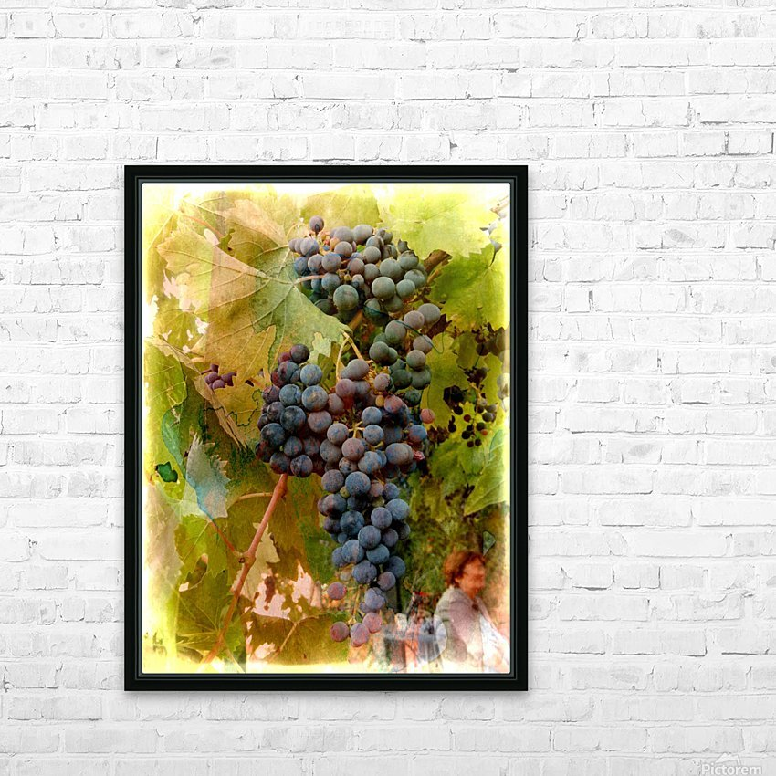 Waiting for Wine HD Sublimation Metal print with Decorating Float Frame (BOX)