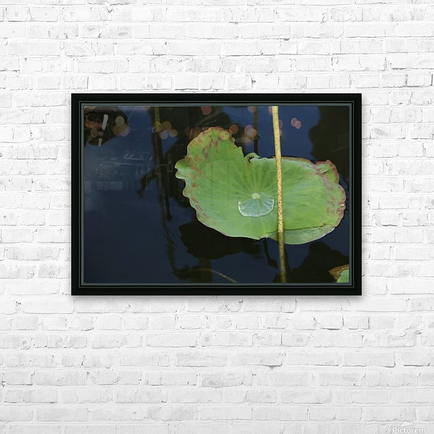 keep it green HD Sublimation Metal print with Decorating Float Frame (BOX)