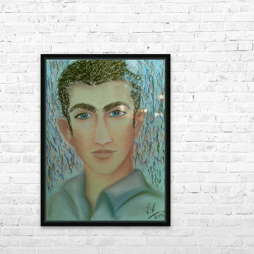 youcef HD Sublimation Metal print with Decorating Float Frame (BOX)