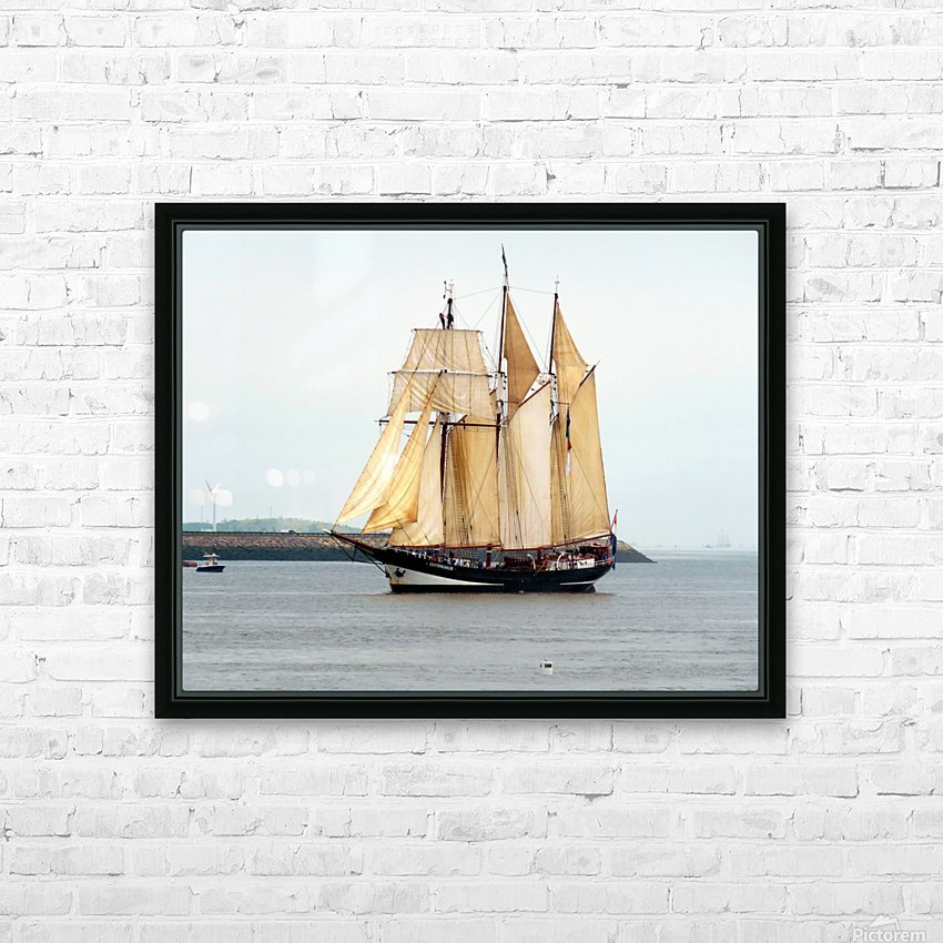 Oosterschelde HD Sublimation Metal print with Decorating Float Frame (BOX)
