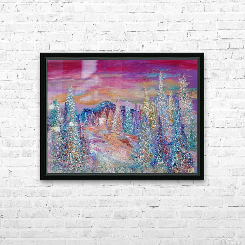San Juan Mountains Colorado HD Sublimation Metal print with Decorating Float Frame (BOX)