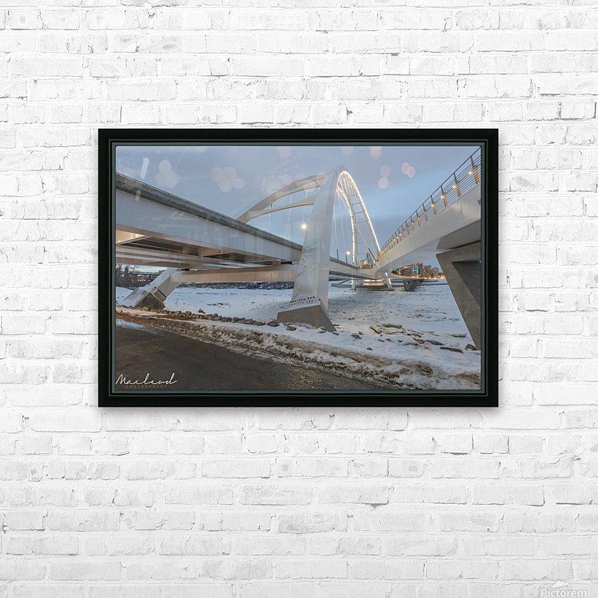 Walterdale_Bridge_NIK9885 HD Sublimation Metal print with Decorating Float Frame (BOX)
