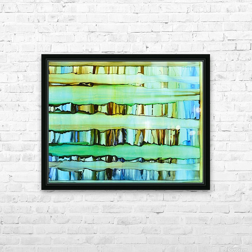 Between the Lines 2 HD Sublimation Metal print with Decorating Float Frame (BOX)