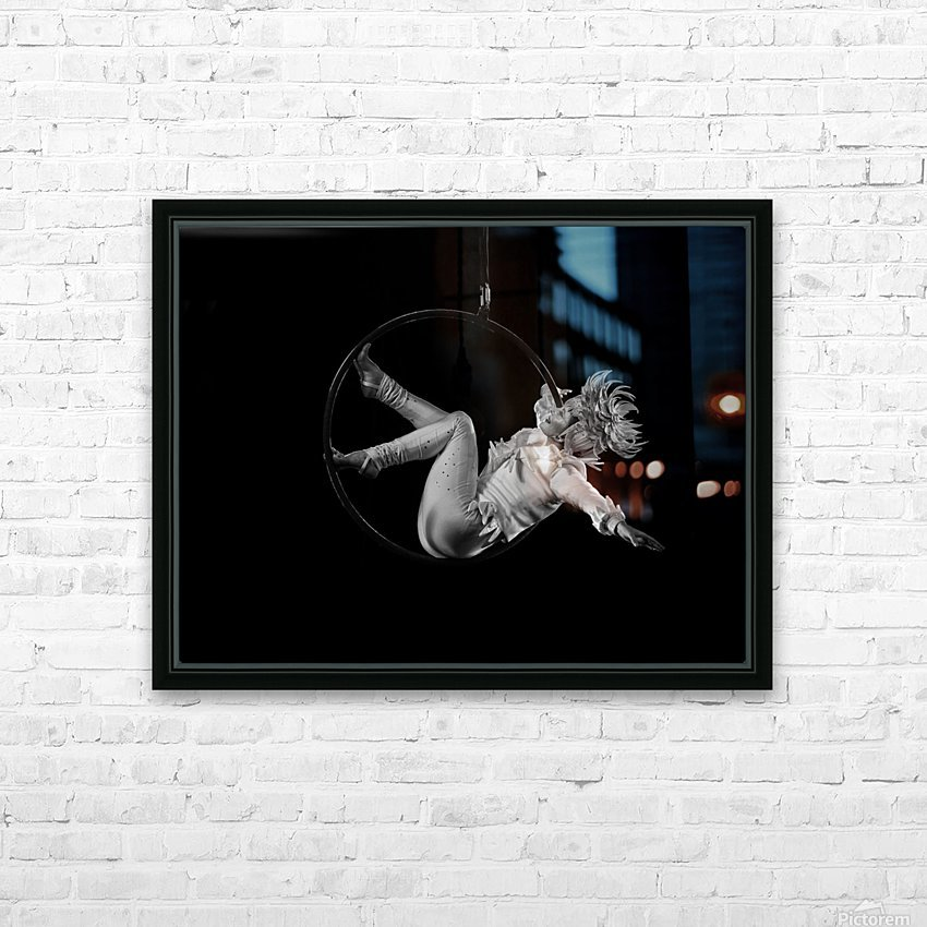 Circus HD Sublimation Metal print with Decorating Float Frame (BOX)