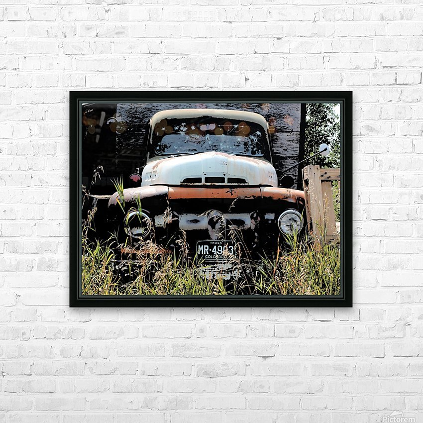 Mr 49 HD Sublimation Metal print with Decorating Float Frame (BOX)