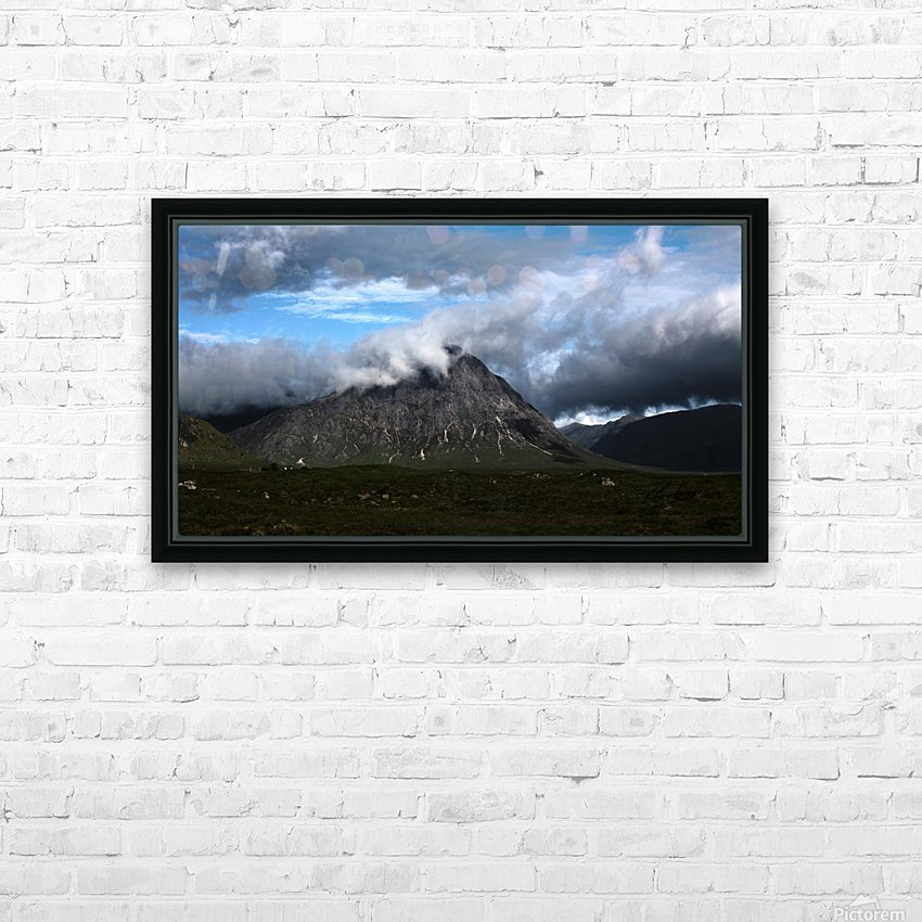 Glen Etive  HD Sublimation Metal print with Decorating Float Frame (BOX)
