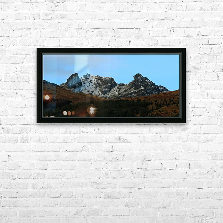 The Cobler  HD Sublimation Metal print with Decorating Float Frame (BOX)