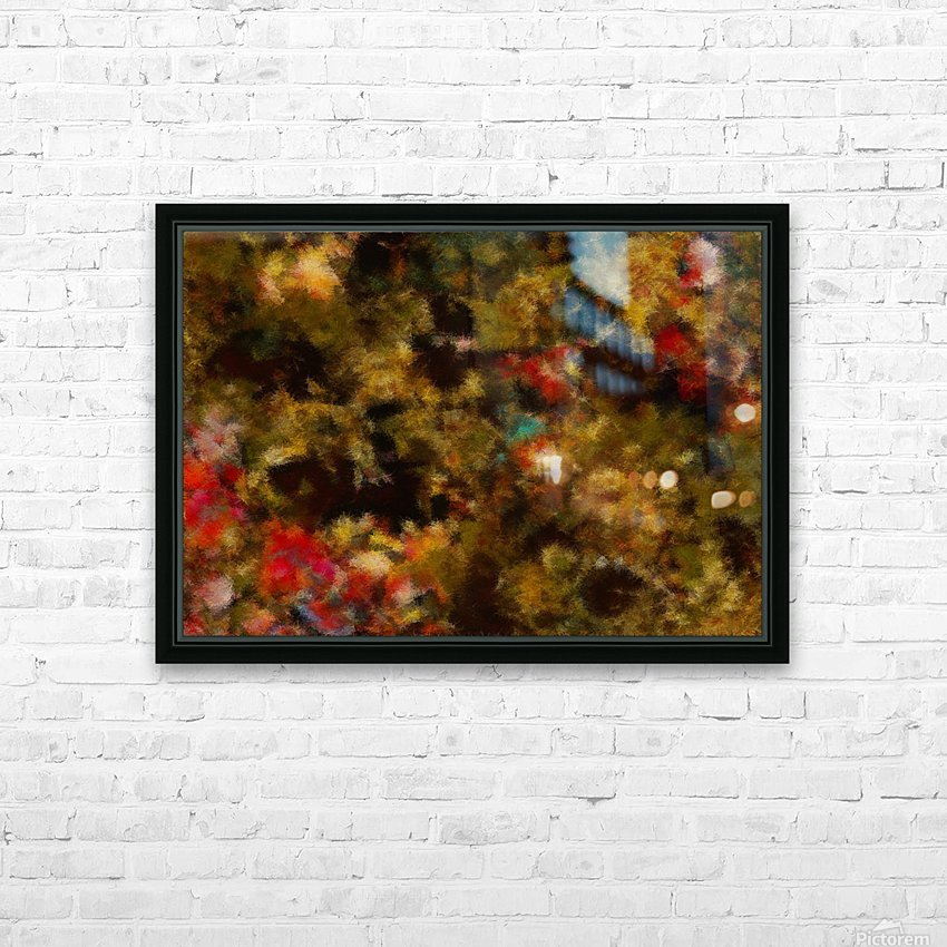 Forest by Night I HD Sublimation Metal print with Decorating Float Frame (BOX)