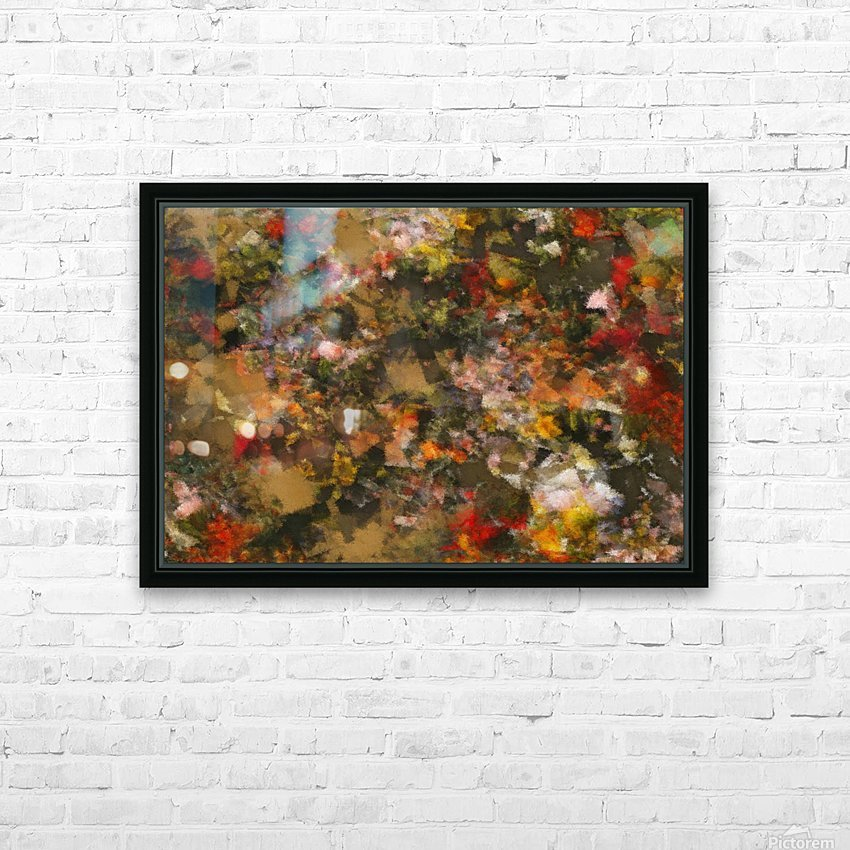 Forest by Night II HD Sublimation Metal print with Decorating Float Frame (BOX)