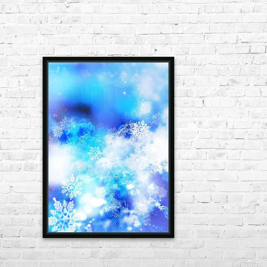 The Frozen Spirit HD Sublimation Metal print with Decorating Float Frame (BOX)