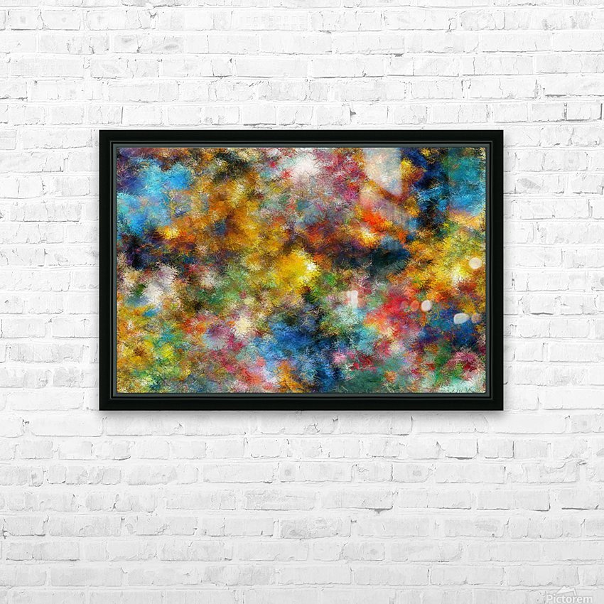 Clouds and Lights HD Sublimation Metal print with Decorating Float Frame (BOX)